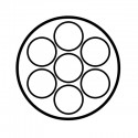 Faisceau spécifique 7 broches SET0325