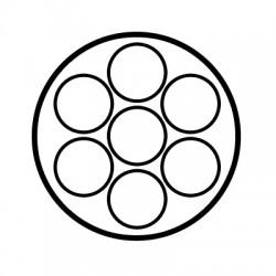 Faisceau spécifique 7 broches SET0551