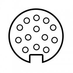 Faisceau spécifique 13 broches SET0567