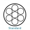 Faisceaux 7 broches standards