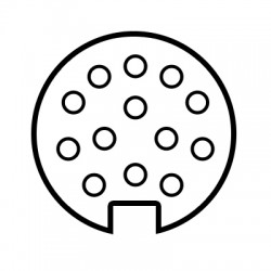 Faisceau spécifique 13 broches SET0674