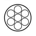 Faisceau spécifique 7 broches SET0695