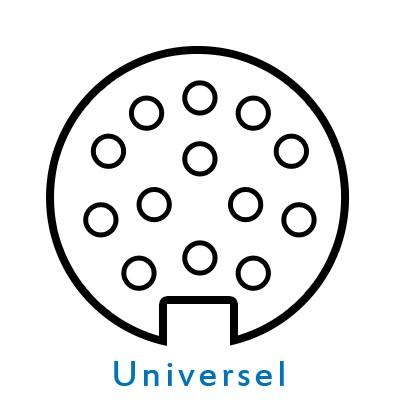 KIT13 - Faisceau universel 13 broches