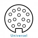Faisceaux 13 broches universels